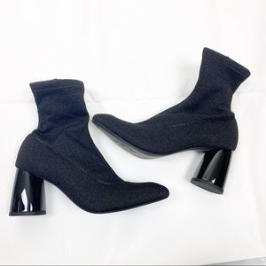 Free People Womens Spectrum Sock Boot Heels